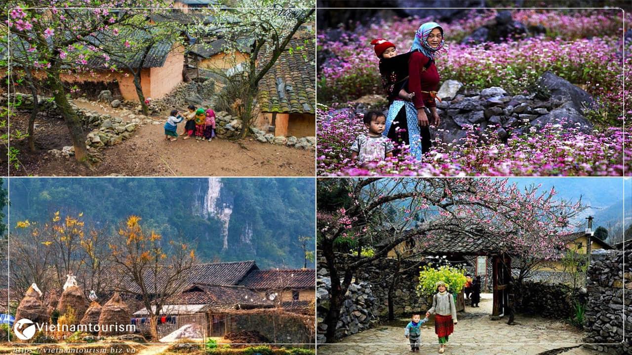 Du lịch Hà Giang - Bản Sùng Lả