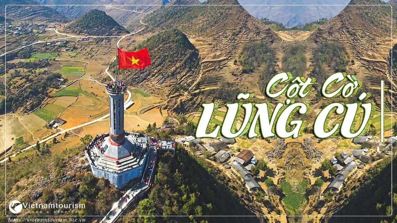du lịch Hà Giang cột cờ Lũng Cú