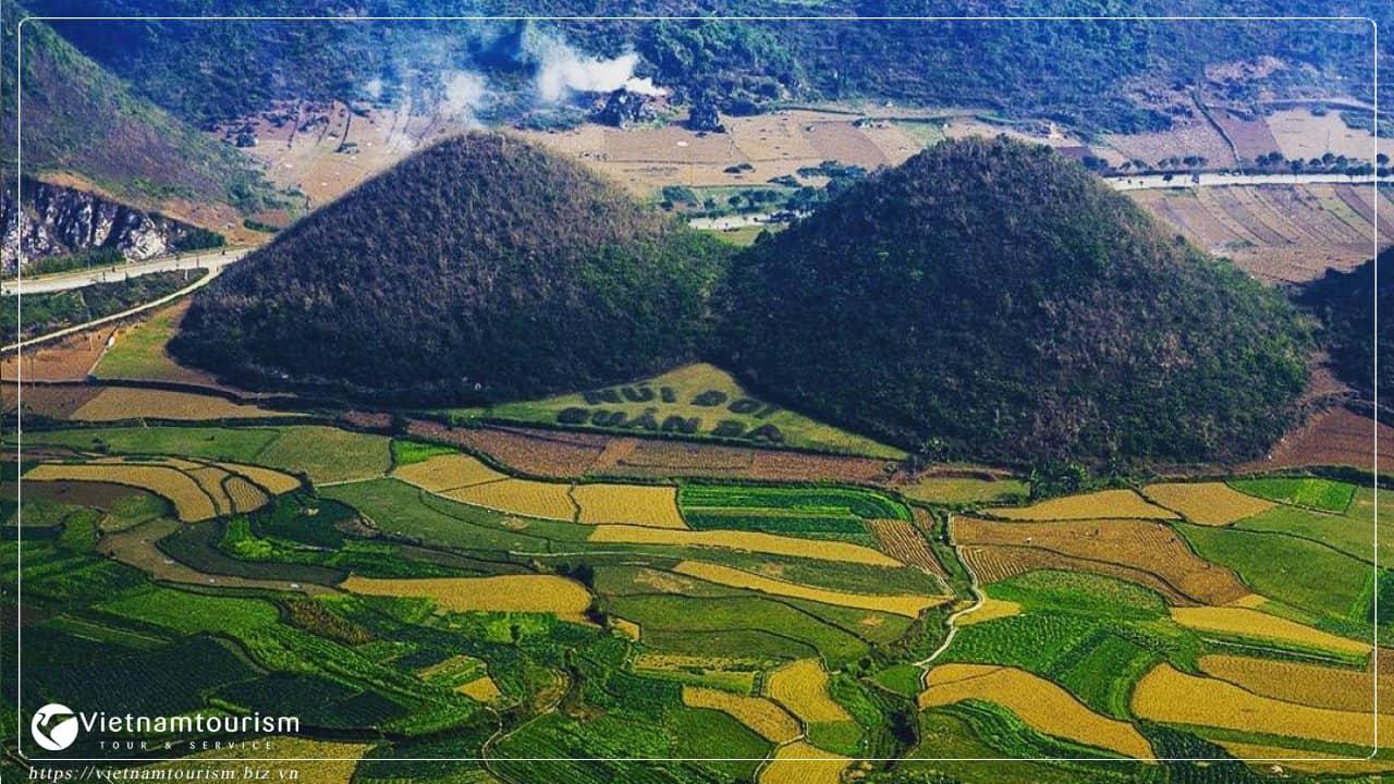 Du lịch Hà Giang - Núi Đôi Quảng Bạ