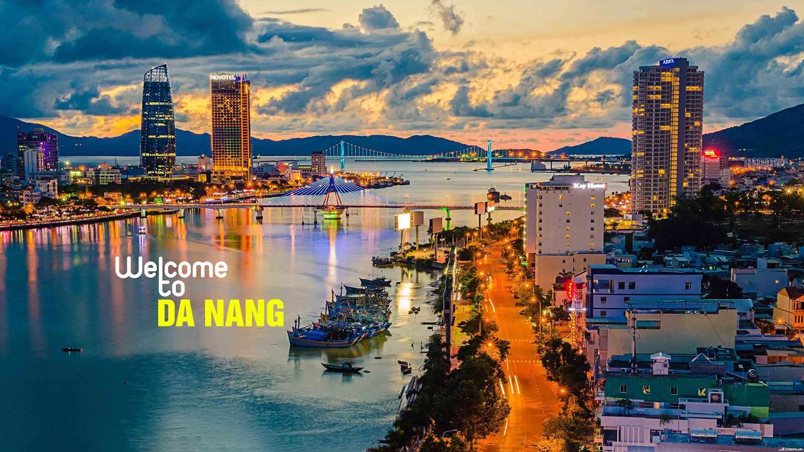 Tour du lịch Đà Nẵng - Cảnh Đà Nẵng ban đêm