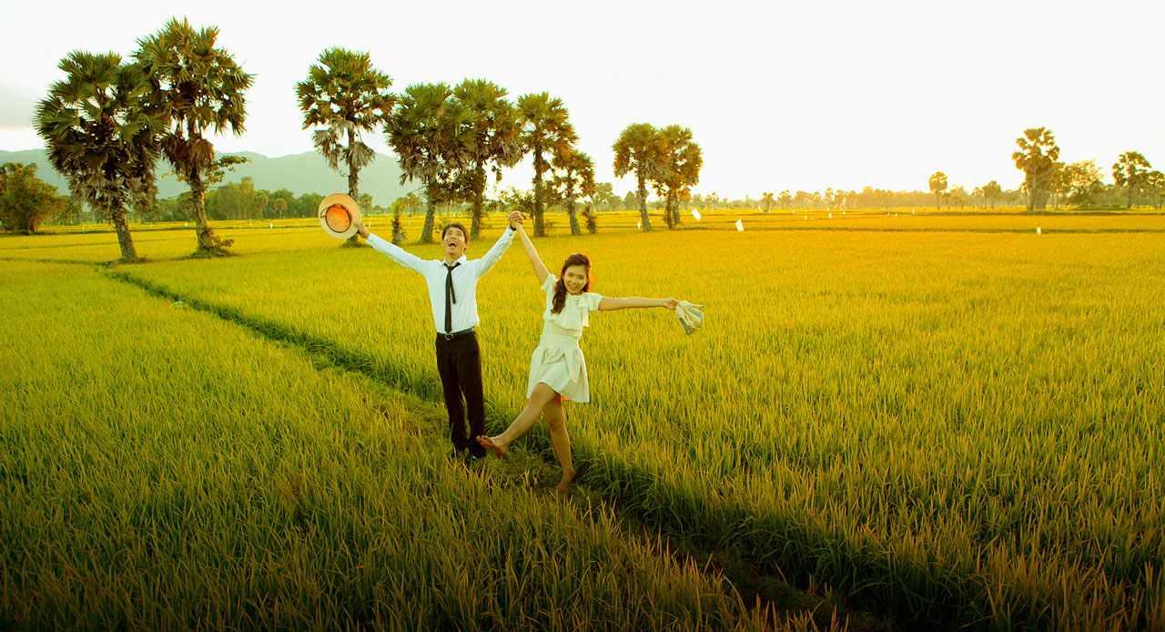 Không chỉ là điểm đến tour du lịch An Giang hấp dẫn mà đây còn là điểm chụp ảnh cưới ưa thích của nhiều cặp đôi.