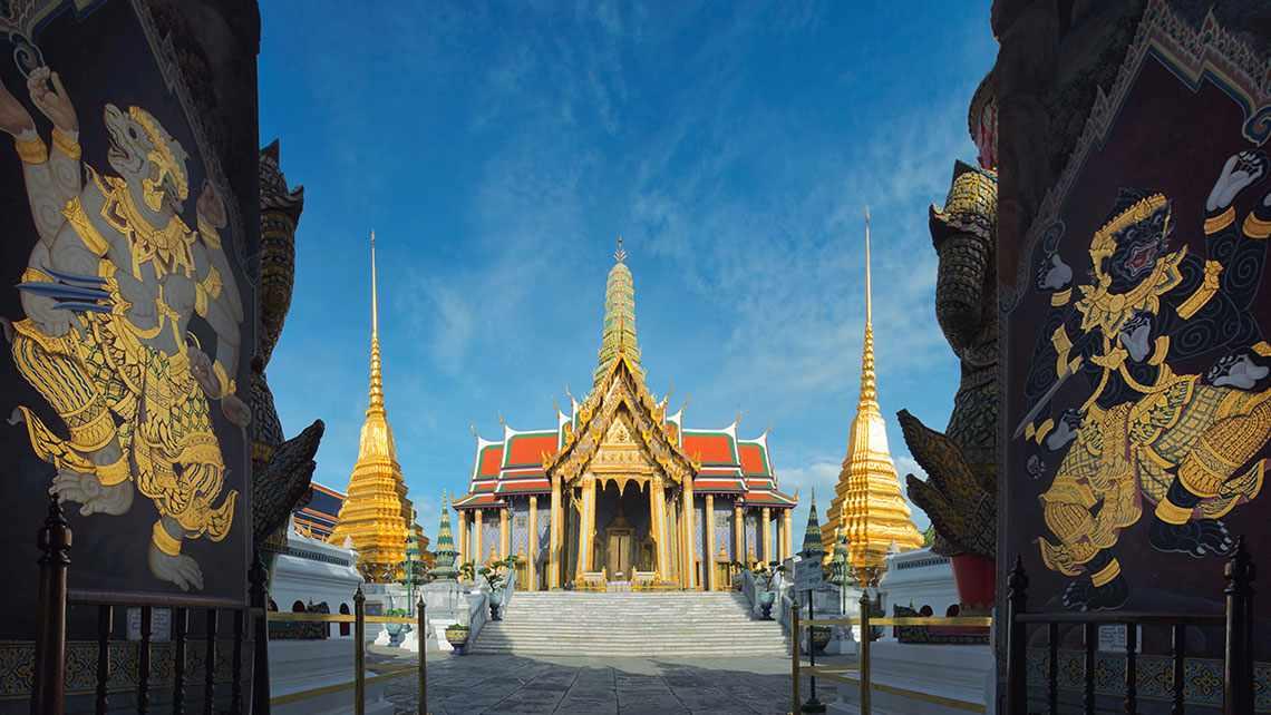Grand Palace - một trong những điểm đến thu hút khách du lịch châu Á.