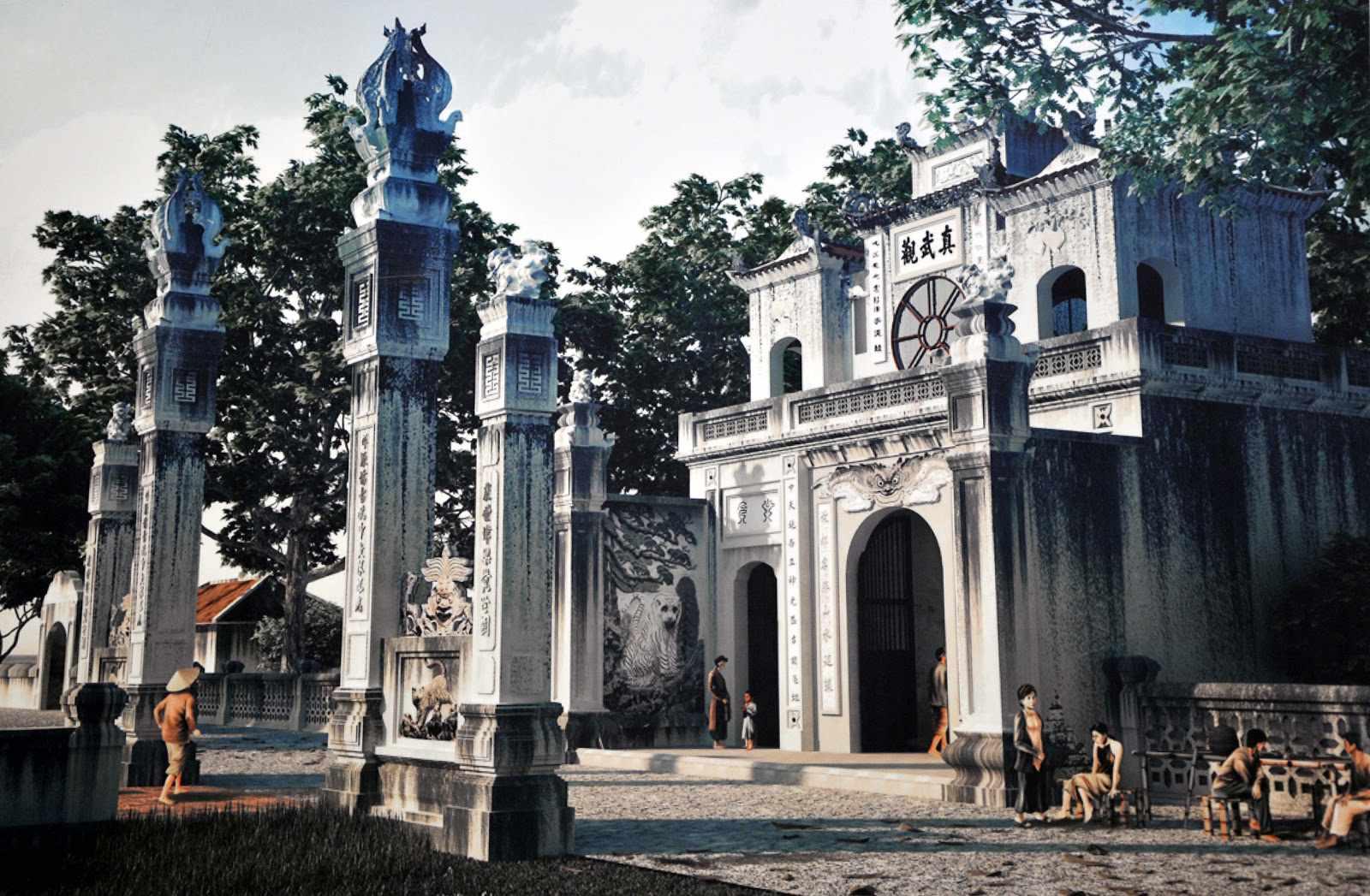 Tour Hà Nội - Đền Quan Thánh