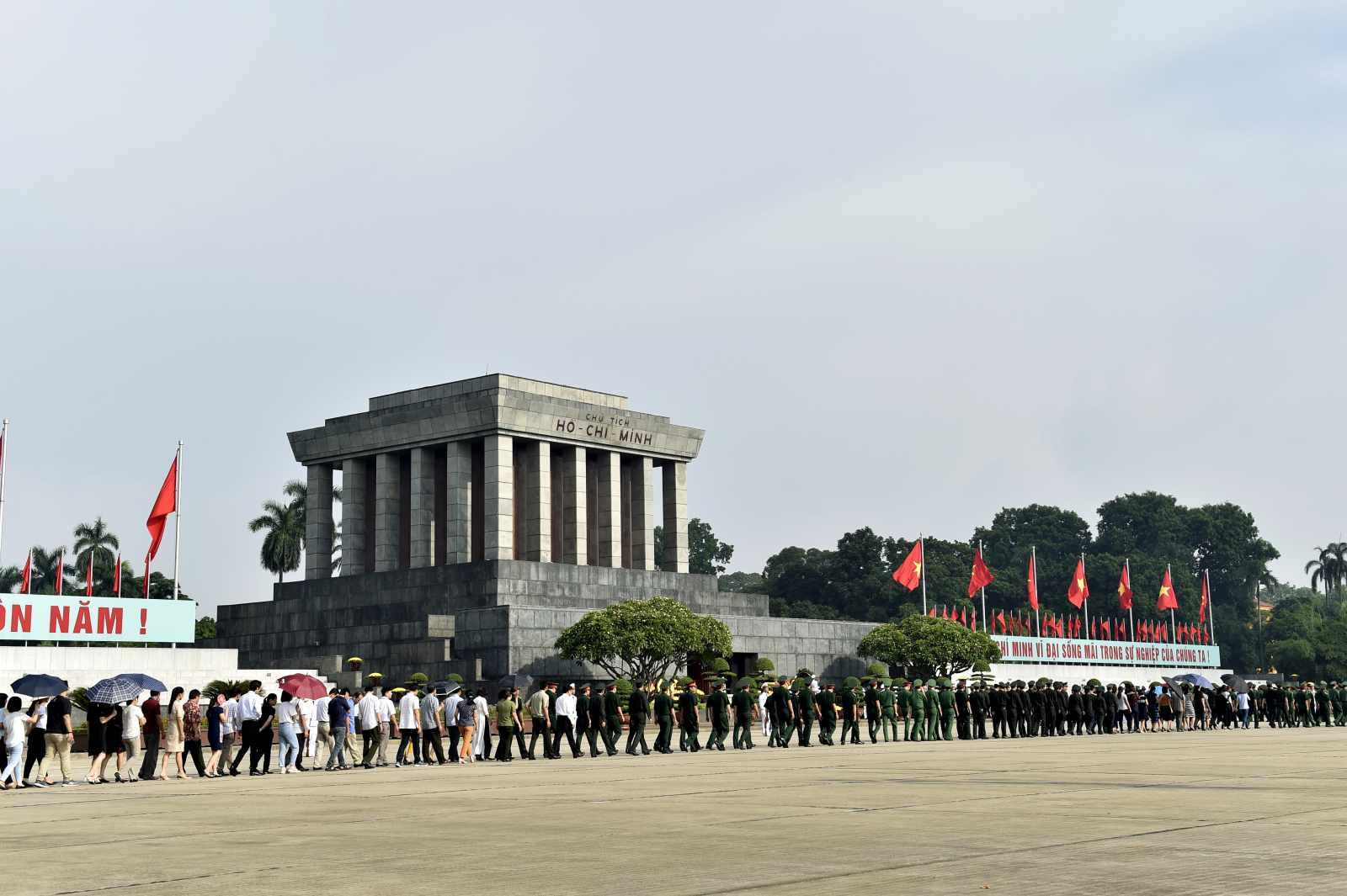Tour Hà Nội - Lăng Bác