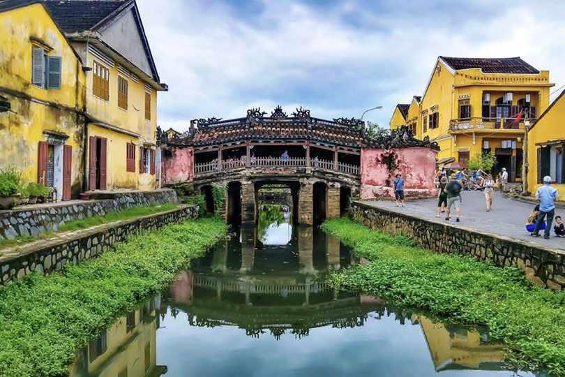 Chùa Cầu - một trong những điểm đến ưa thích của đông đảo khách du lịch Hội An.