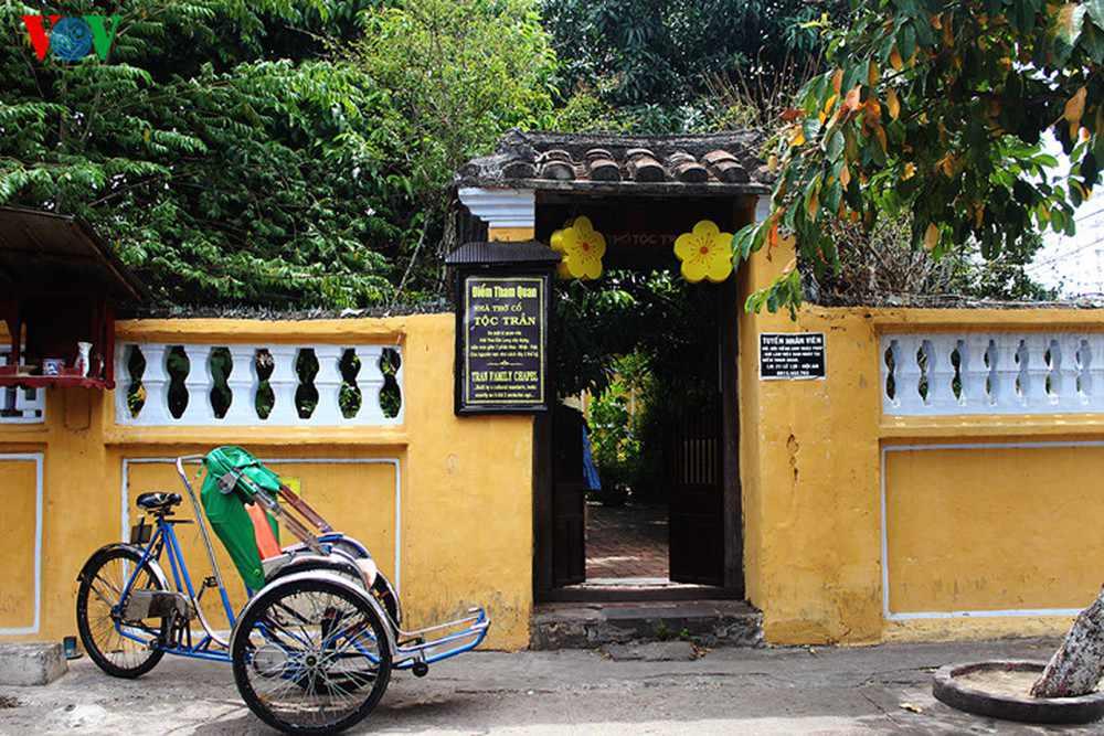 Nhà thờ Tộc Trần cũng là một điểm tham quan tour Hội An lý tưởng cho bạn.