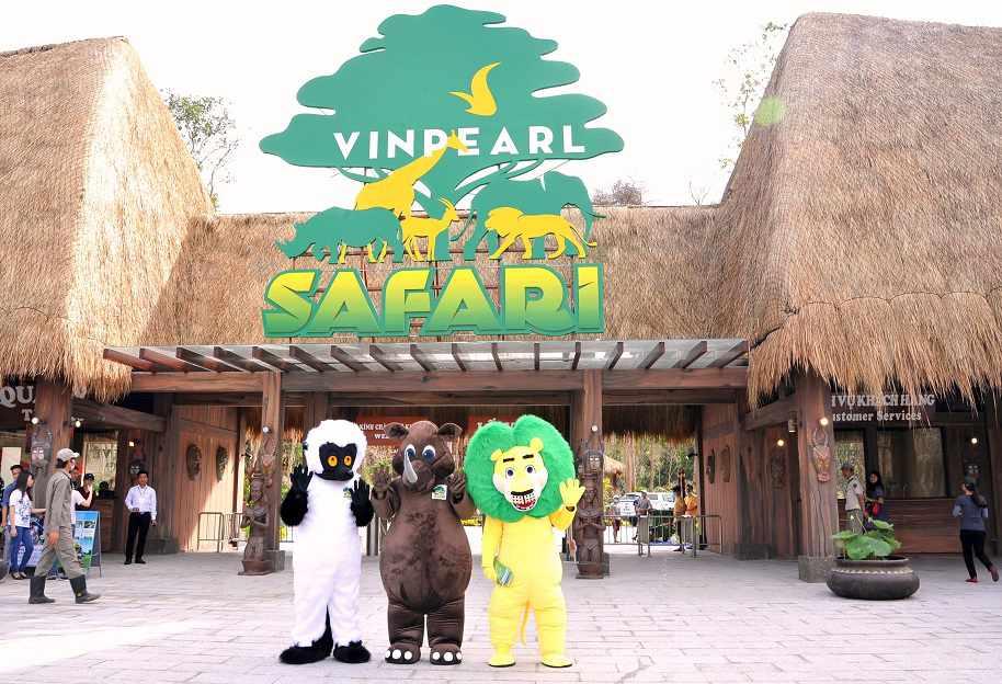 Tour du lịch miền Nam - Vinpearl Safari Phú Quốc