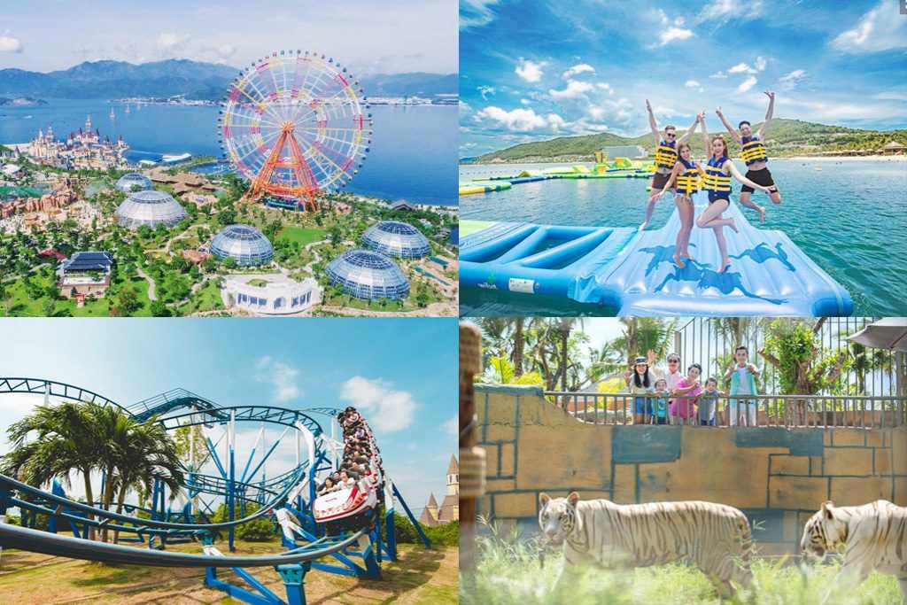 Tour Nha Trang - Du lịch Nha Trang trải nghiệm trò chơi cảm giác mạnh độc đáo tại Vinpearl Land