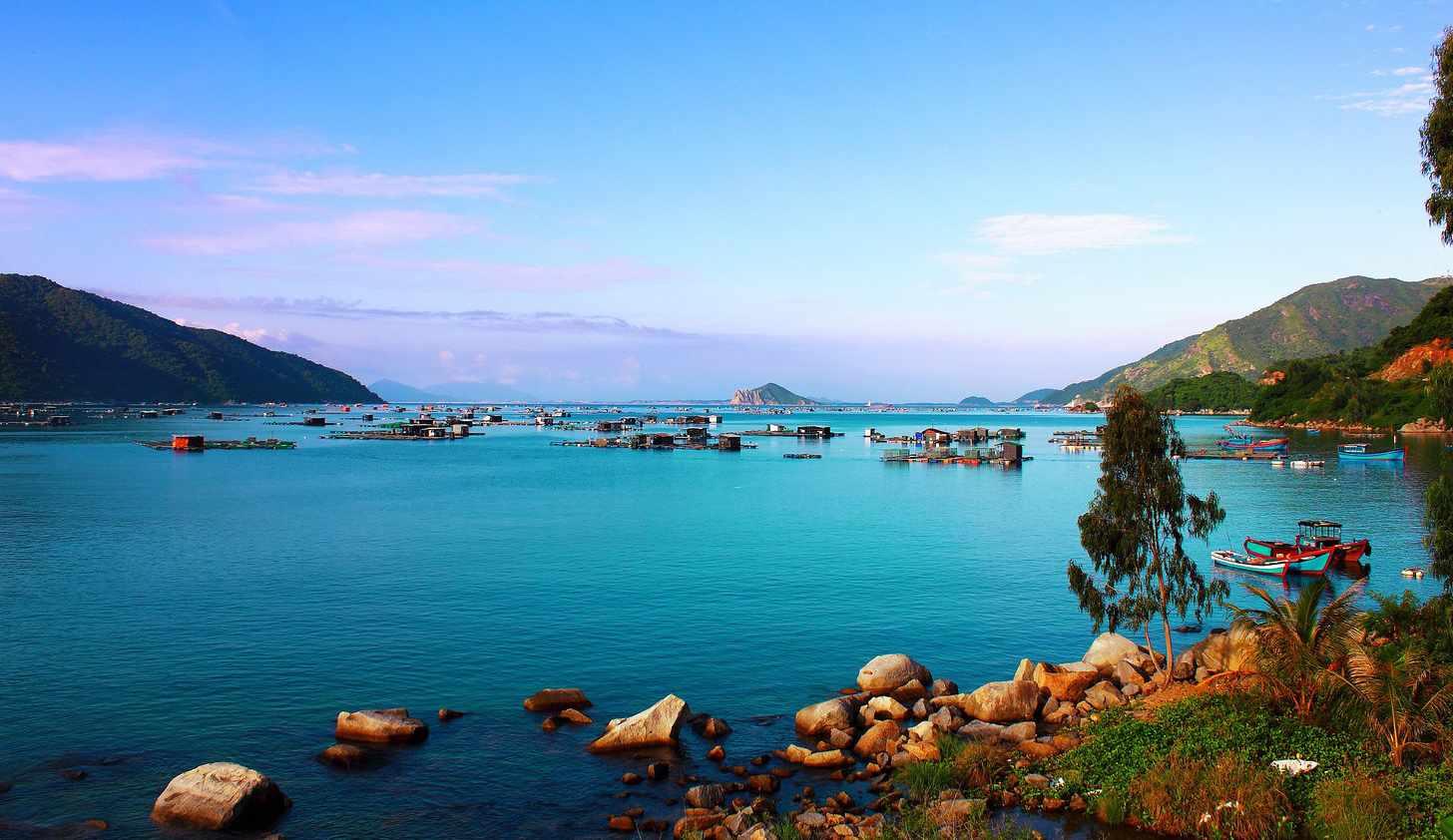 Một góc khung cảnh biển Vũng Rô đẹp mê hồn. Tour du lich phu yen, tour phu yen.