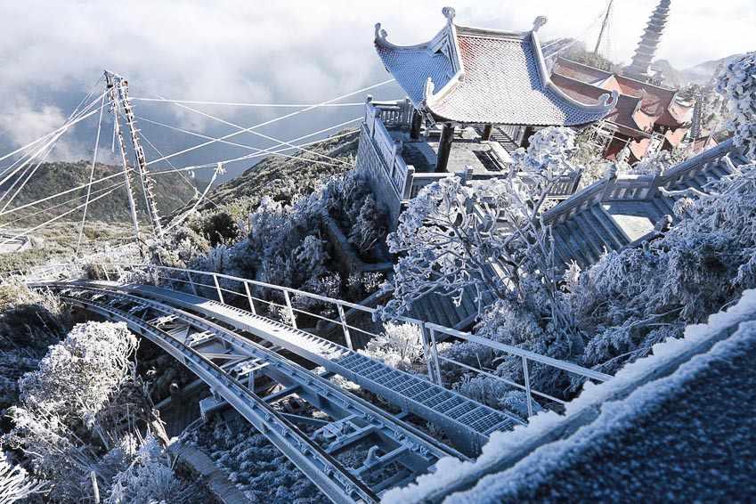 Tour Sapa mùa đông - Du lịch Sapa thực hiện giấc mơ tuyết trắng