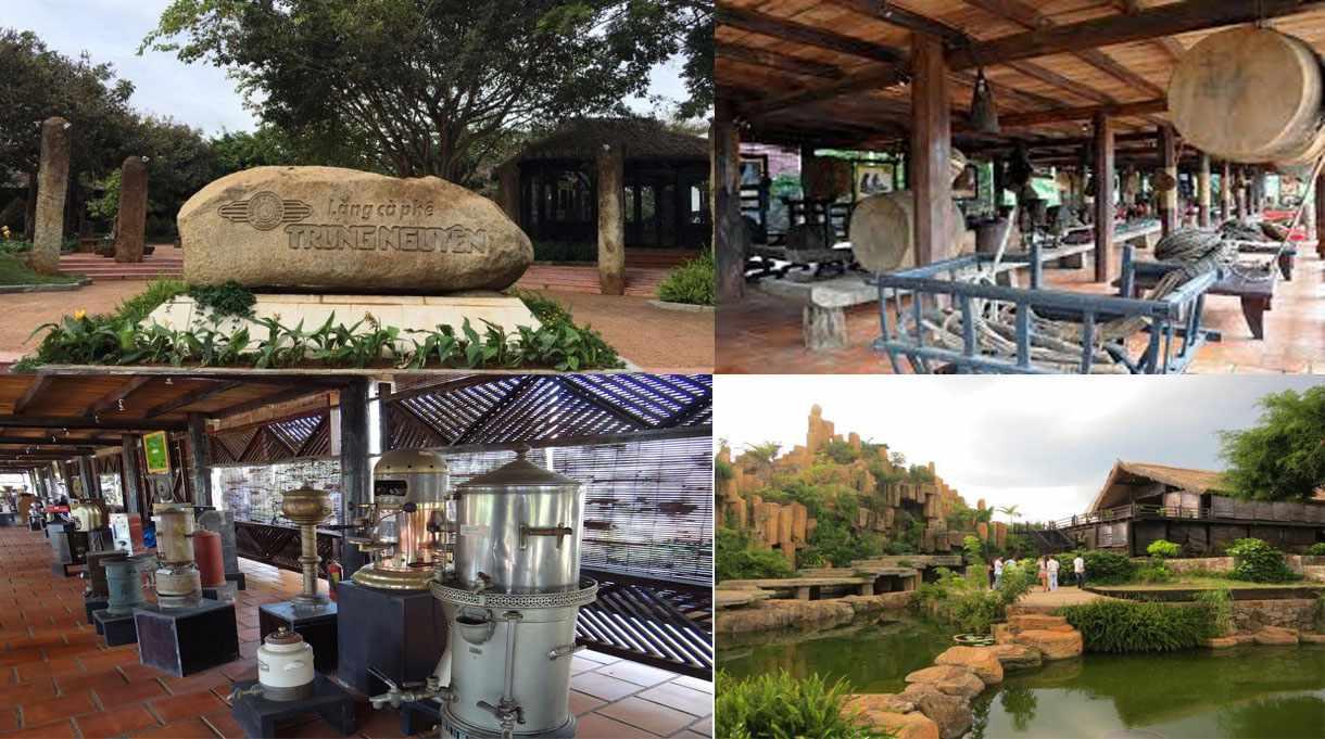 Tour Tây Nguyên - Đến làng cà phê Trung Nguyên thưởng thức và khám phá lịch sử hạt cà phê