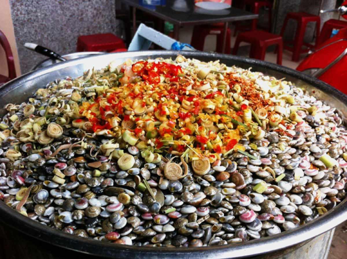 Đừng bỏ qua món ốc gạo này khi đi tour du lịch Tiền Giang nhé. Tour tien giang.