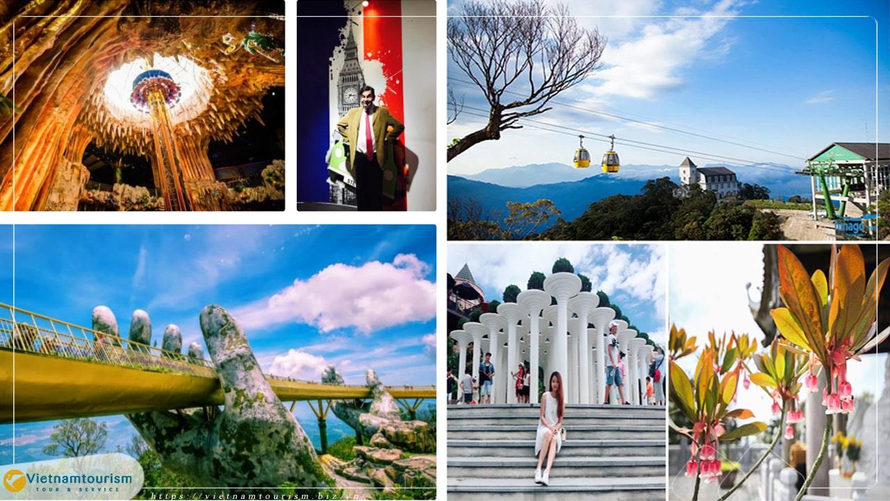 Du lịch Đà Nẵng – Bà Nà Hills 1 ngày (Combo Vé Buffet Siêu ưu đãi)
