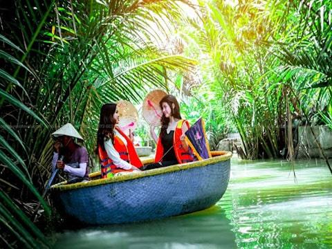 Tour rừng dừa Bảy Mẫu Hội An 1 ngày giá tốt từ Đà Nẵng