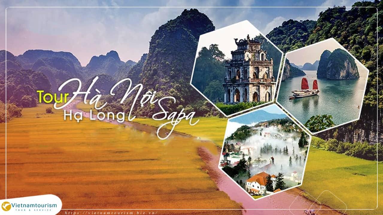 Du Lịch Miền Bắc 5 ngày 4 đêm – Hà Nội – Hạ Long – Sapa – Chinh Phục Fansipan giá tốt từ Sài Gòn