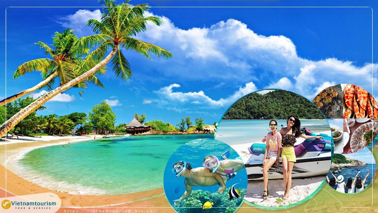 Du lịch Phú Quốc Tết Dương lịch 3 ngày 2 đêm giá tốt từ Sài Gòn