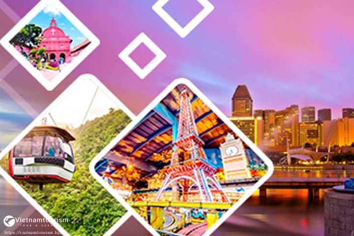 Du lịch Singapore Indonesia Malaysia 6 ngày 5 đêm từ Sài Gòn giá tốt