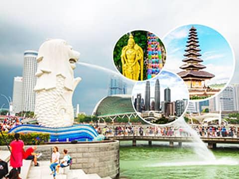 Du lịch Singapore Malaysia Indonesia giá rẻ khởi hành từ Sài Gòn