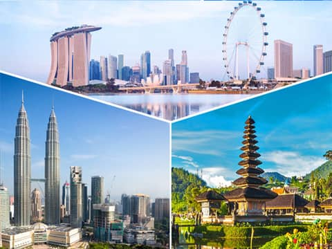 Du lịch Singapore Indonesia Malaysia 6 ngày 5 đêm giá tốt từ Sài Gòn