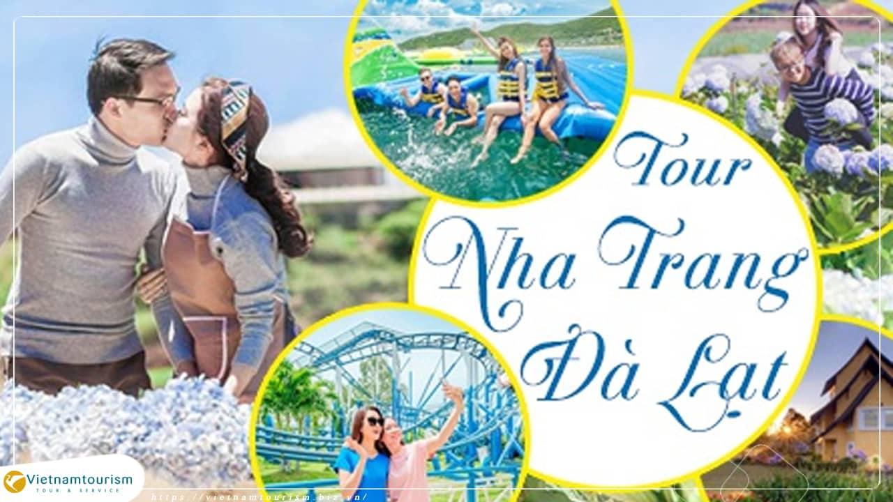 Du lịch Nha Trang – Đà Lạt 5 ngày 4 đêm giá tốt 2021 khởi hành từ Sài Gòn