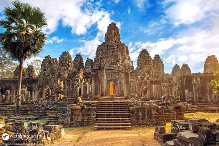Du lịch Campuchia 4 ngày Siêm Riệp – Phnompenh giá tốt từ Hà Nội