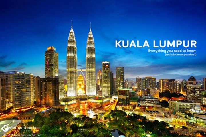 Du lịch Malaysia Kuala Lumpur – Genting 3 ngày 2 đêm từ Sài Gòn giá tốt