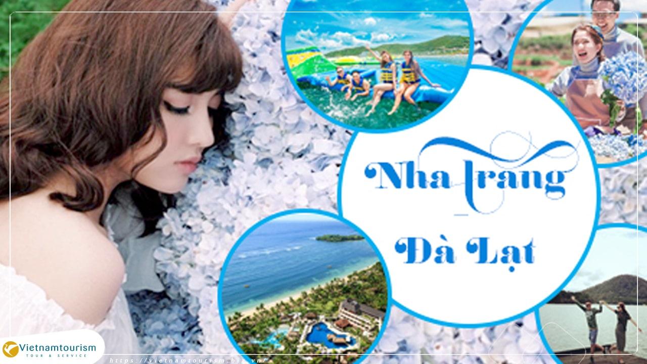 Du lịch Nha Trang Đà Lạt 5 Ngày 4 Đêm giá tốt từ Hà Nội