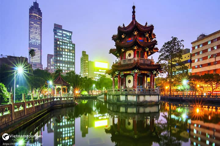 Du lịch Đài Loan Đài Bắc – Đài Trung – A Lý Sơn – Cao Hùng từ Tp.HCM bay Vietjet Air