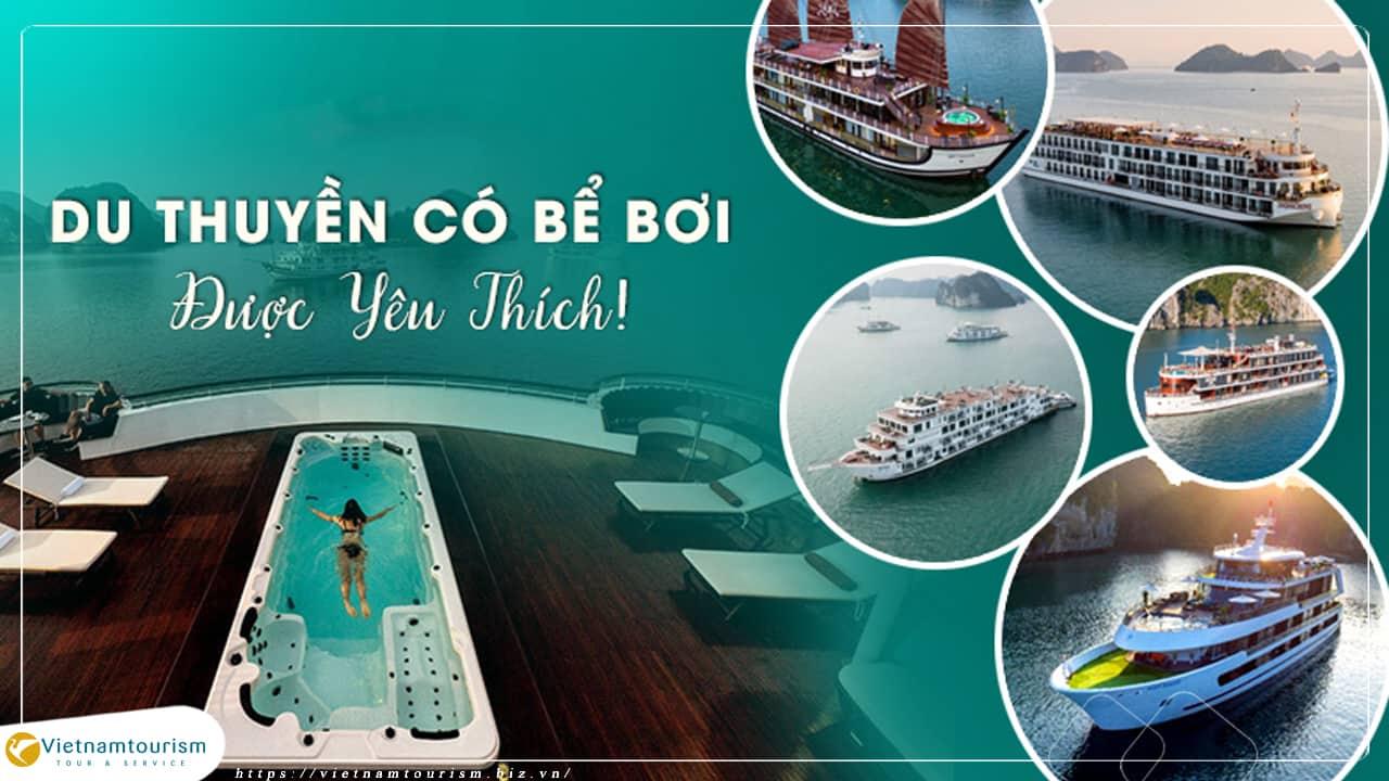 Du lịch Hạ Long 2 ngày 1 đêm – Du Thuyền 5 sao giá tốt từ Hà Nội