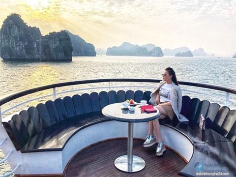 Du Lịch Hạ Long 2 Ngày – Ngủ Đêm Trên Du Thuyền 3 Sao giá tốt từ Hà Nội