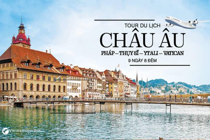 Tour Châu Âu 8 ngày Pháp – Luxembourg – Đức – Bỉ – Hà Lan từ Sài Gòn giá tốt