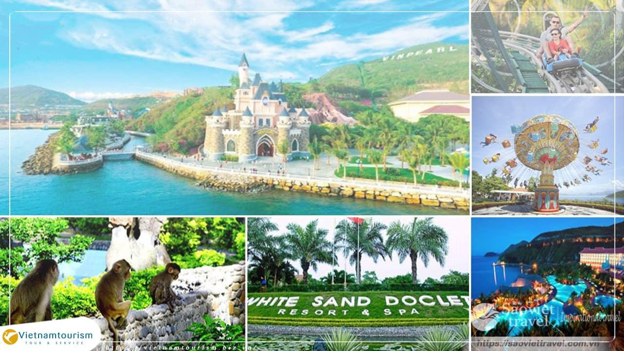 Du lịch Nha Trang du ngoạn 3 đảo giá tiết kiệm khởi hành từ Sài Gòn