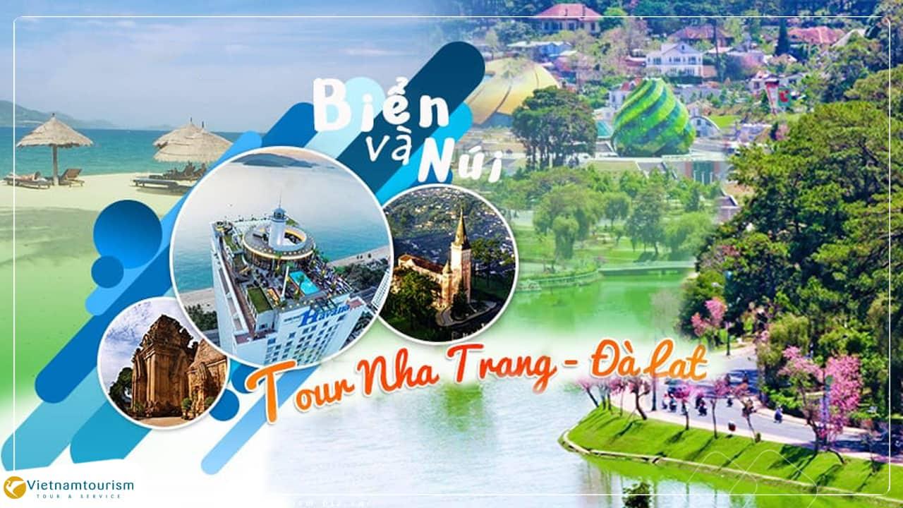 Tour Du Lịch Nha Trang – Đà Lạt 5 ngày 4 đêm giá tốt khởi hành từ Sài Gòn