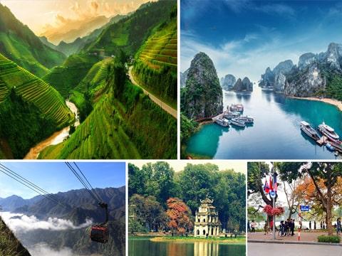 Du lịch Tết Dương lịch Vịnh Hạ Long – Ninh Bình – Sapa 5 Ngày giá tốt từ Sài Gòn