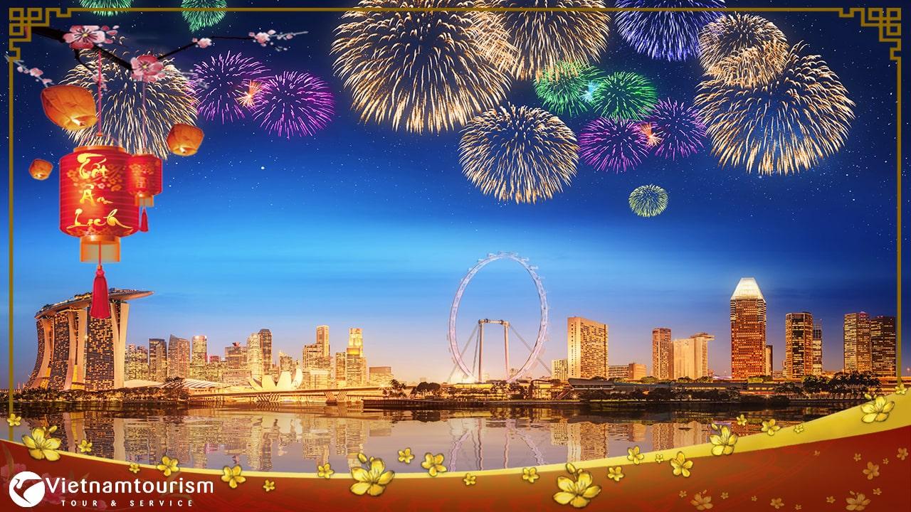 Du lịch Singapore Tết Âm lịch khám phá Vườn Chim Jurong từ Sài Gòn
