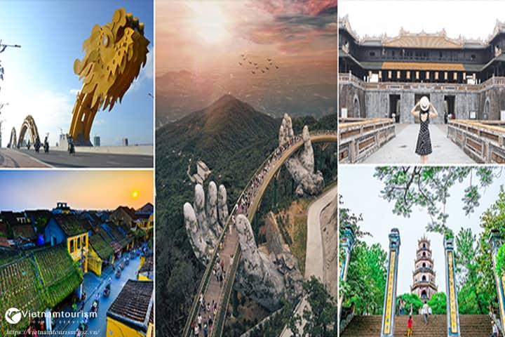 Du lịch Đà Nẵng hè 2021- Bà Nà – Hội An – Huế – Động Phong Nha giá tốt từ TP. HCM