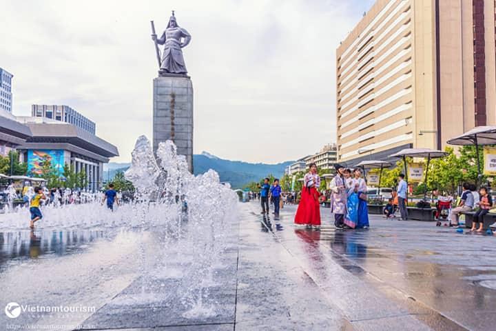 Du lich Hàn Quốc – Seoul – Nami – Everland 4 ngày giá tốt 2022 từ Sài Gòn