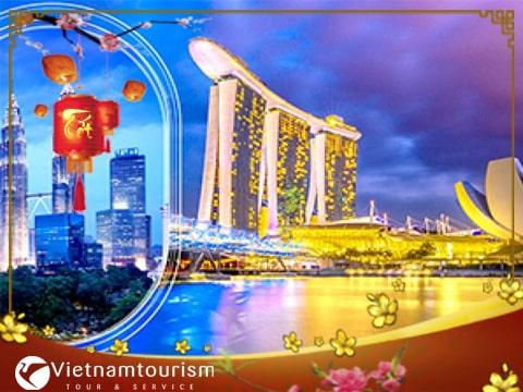 Tour Du lịch Singapore Malaysia 5 ngày dịp Tết 2018 giá tốt từ Hà Nội