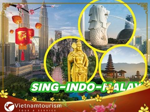 Du lịch Singapore – Malaysia – Indonesia Tết Tân Sửu 2018 giá tốt từ Sài Gòn – Đặc sắc nhạc nước