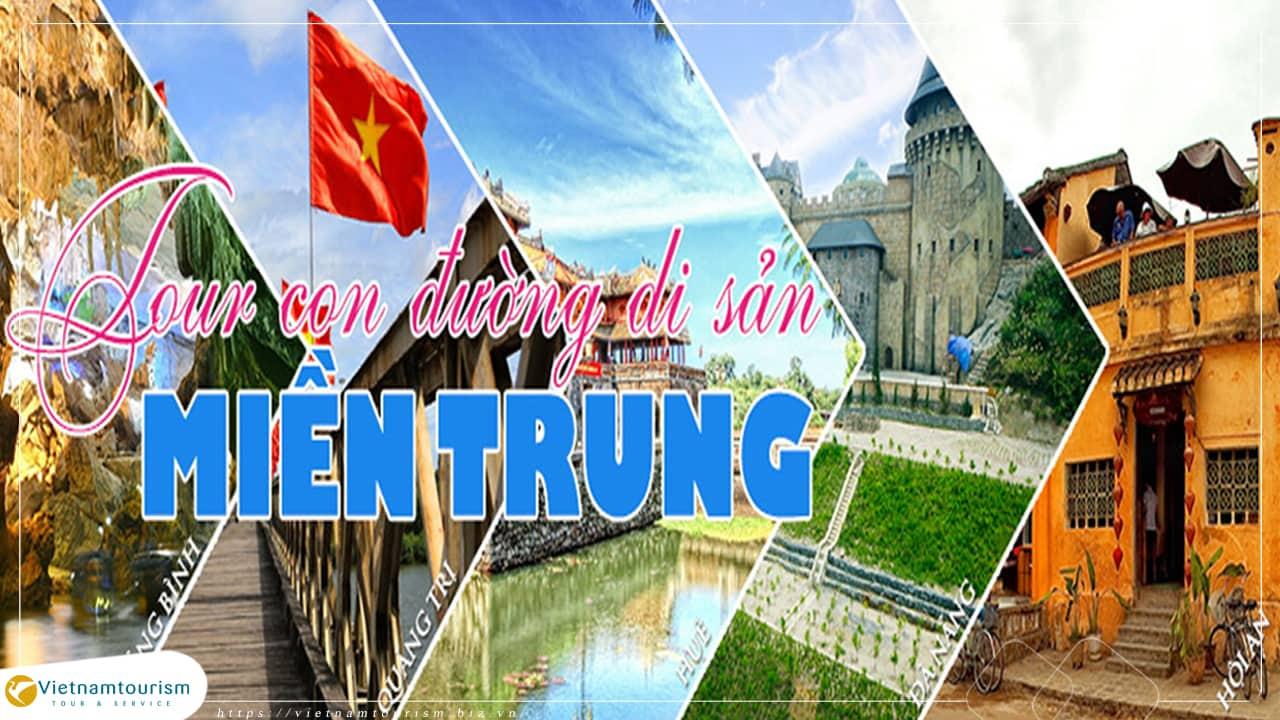 Du lịch Đà Nẵng 5 ngày 4 đêm – Bà Nà – Hội An – Huế – Động Phong Nha từ Hà Nội