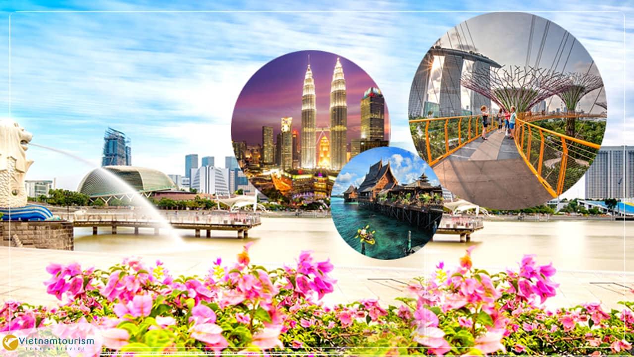 Du lịch Sing-Malay-Indo 6 ngày giá tốt khởi hành từ Tp.HCM [ Tour đặc sắc ]