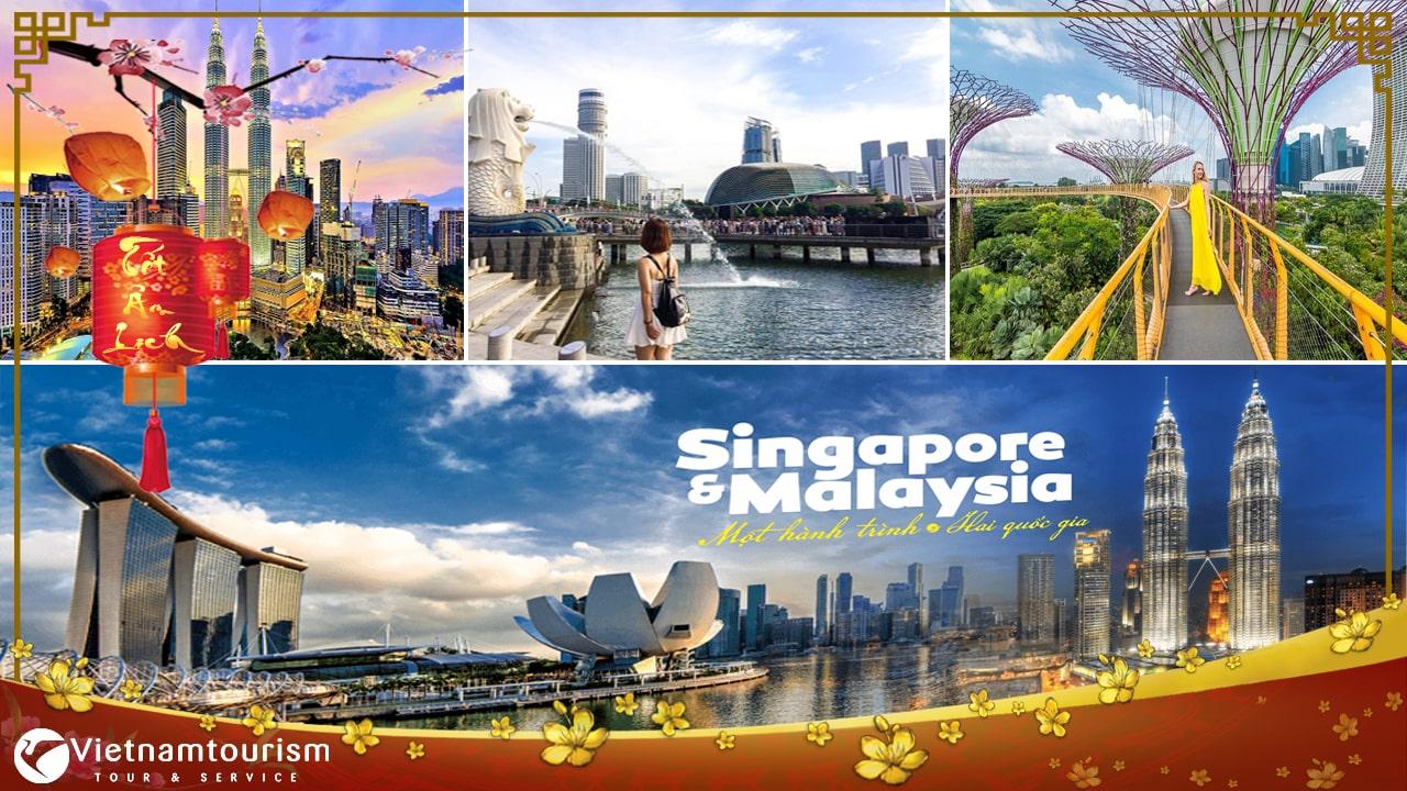 Du lịch Singapore – Malaysia Tết Âm lịch 6 ngày 5 đêm từ Sài Gòn