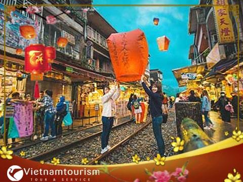 Du lịch Đài Loan Tết Nguyên Đán 2018- Đài Bắc – Đài Trung – Cao Hùng từ Sài Gòn giá tốt