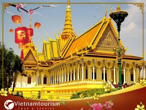 Du lịch Campuchia Tết Âm lịch  – Siem Reap – Phnom Penh từ Sài Gòn