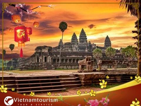 Du lịch Campuchia Tết Âm lịch Sihanoukville – Đảo Kohrong – Bokor 4 ngày 3 đêm từ Sài Gòn