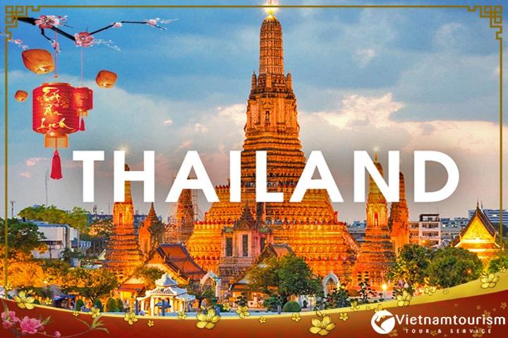 Du lịch Thái Lan Tết Nguyên đán Bangkok – Pattaya – Đảo Coral giá tốt từ Hà Nội