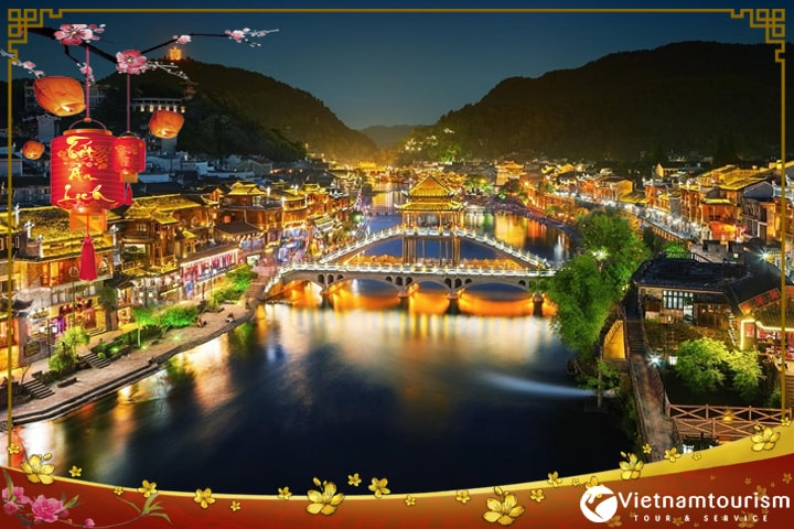 Du lịch Trung Quốc Tết Âm lịch 2022 – Trương Gia Giới – Thành cổ Phượng Hoàng 4N3Đ giá tốt từ Sài Gòn