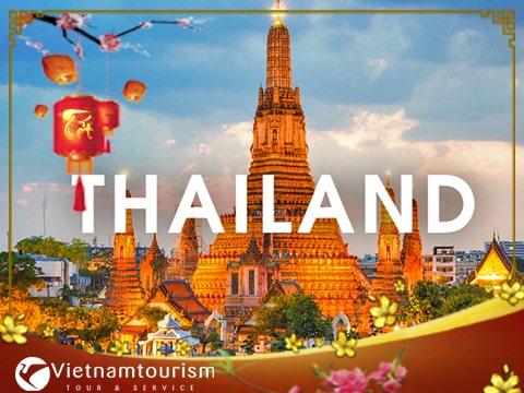 Du lịch Tết Âm lịch Bangkok – Pattaya 5 ngày 4 đêm từ Sài Gòn