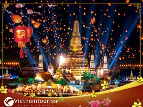 Du lịch Thái Lan Tết Nguyên Đán 2022  Bangkok – Pattaya 5 ngày 4 đêm từ Sài Gòn