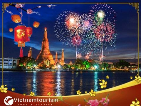 Tour du lịch Thái Lan Tết Nguyên Đán 2022  Bangkok – Pattaya 5 ngày 4 đêm từ TP.HCM – KS 4 sao